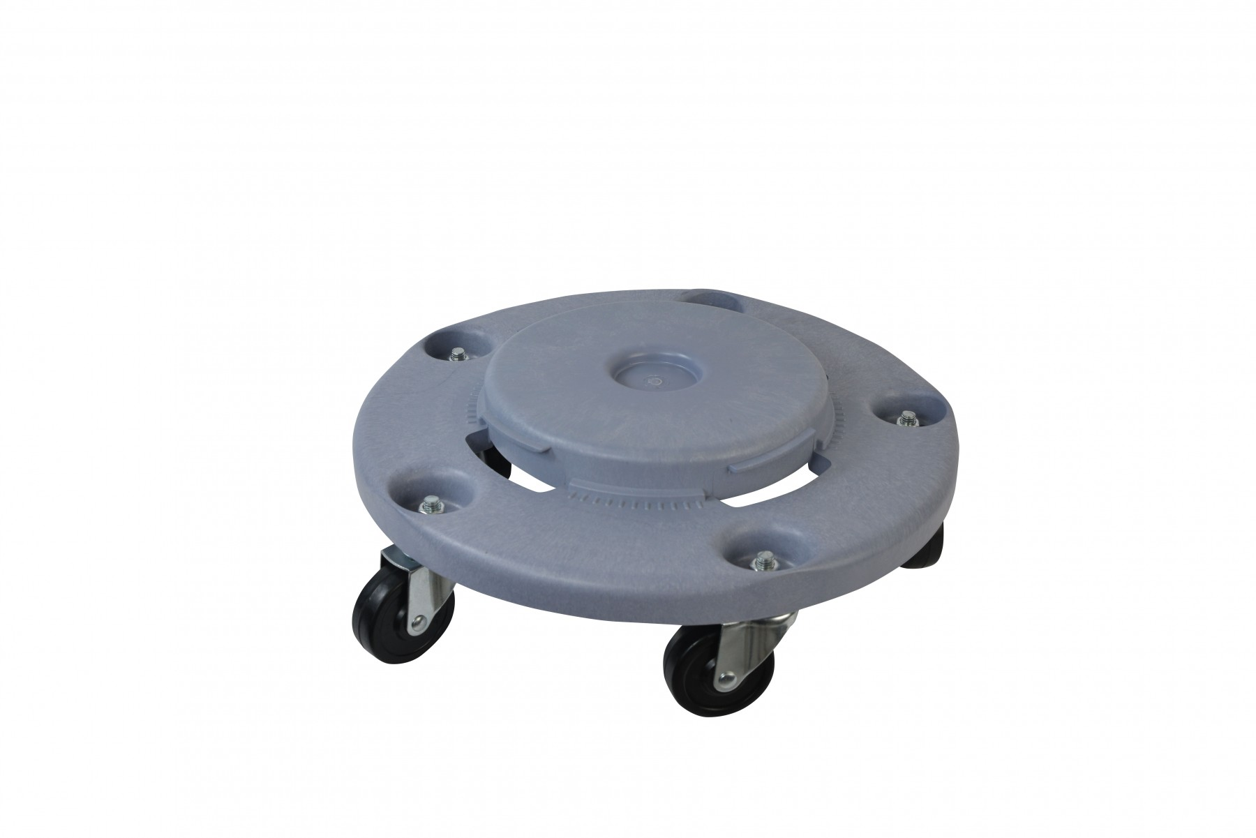 Janico 1040 Trash Can Dolly Heavy Duty Bolted Casters