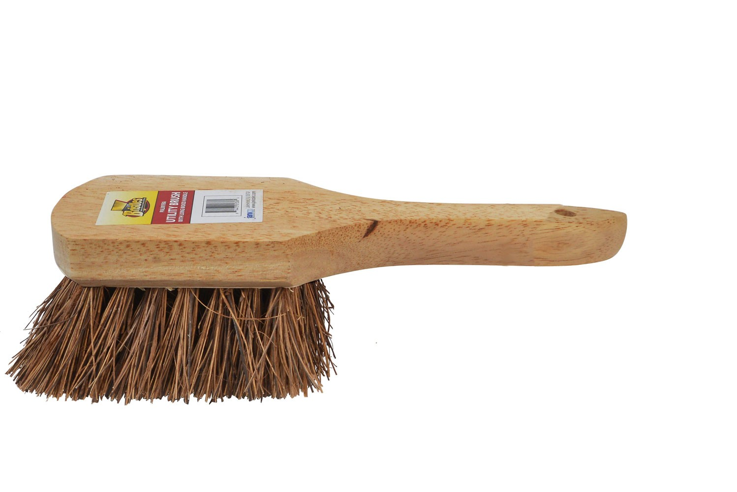 4206 8 Inch Wood Utility Brush With Palmyra Bristles