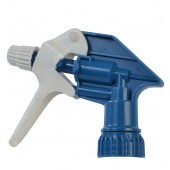1006 Multi Directional Trigger Sprayers for Bottles, Blue / White