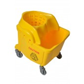 1016 35 Qt Yellow Mop Bucket With Wringer Combo