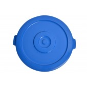 1032-02BL Blue Round Container Lid for 32 Gallon Garbage Can