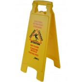 1071 Deluxe Wet Floor Sign