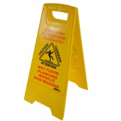 1073 Multi Lingual Wet Floor Sign