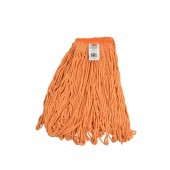 3260 Small Orange Blended Cotton 1 Inch Narrow Headband Looped End Mop Head