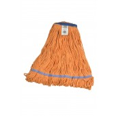 3261 Medium Orange Blended Cotton 1 Inch Narrow Headband Looped End Mop Head