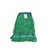 3361 Medium Green Blended Cotton 1 Inch Narrow Headband Looped End Mop Head
