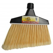 4056 Deluxe Angle Broom with Screw Clamp & Metal Handle