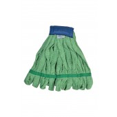 6041GR Medium Green Microfiber Tube Mop