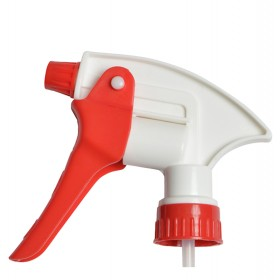 1004RW Industrial Trigger Sprayers for Bottles, Red / White