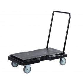 1059 Platform Truck Cart, Stock Picking & Put Away Cart, Black