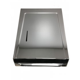 2526 Chrome Metal Multi Fold C Fold Paper Towel Dispenser