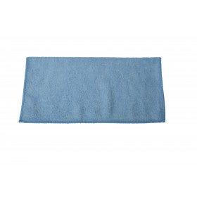 6001BL Blue Premium Microfiber Terry Cloth 12 Inch by 12 Inch