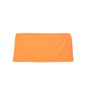 6002OR Orange Premium Microfiber Terry Cloth
