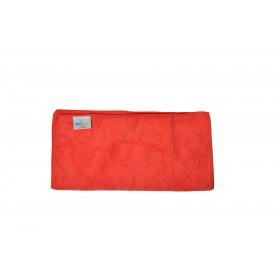 6002RD Red Premium Microfiber Terry Cloth