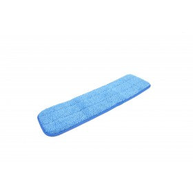 6113BL Blue Microfiber Looped Wet Mop Pads