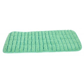 6113GR Green Microfiber Looped Wet Mop Pads