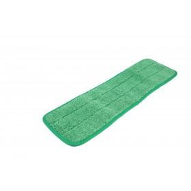 6118GR Green Microfiber Looped Wet Mop Pads