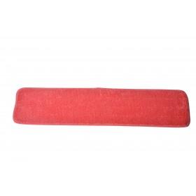 6124RD Red Microfiber Looped Wet Mop Pads