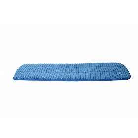6218BL Blue Microfiber Scrubbing Looped Wet Mop Pads