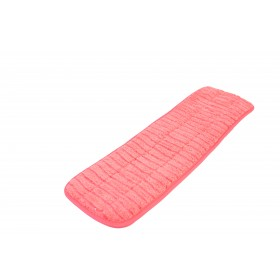 6218RD Red Microfiber Scrubbing Looped Wet Mop Pads