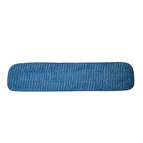 6224BL Blue Microfiber Scrubbing Looped Wet Mop Pads