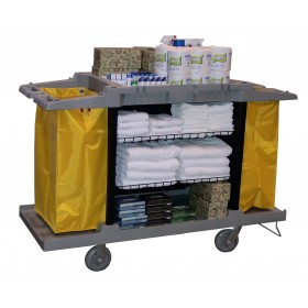 1051 Housekeeping Hospitality Cleaning Service Cart